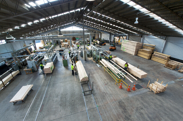 Hume Pine NZ manufacturing and warehouse