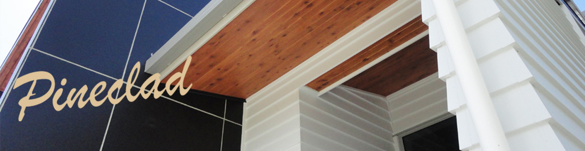 Pineclad weatherboards